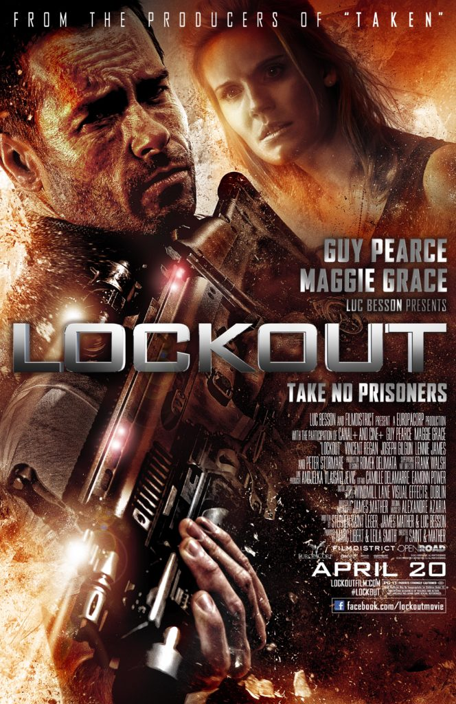 Lockout Movie Poster