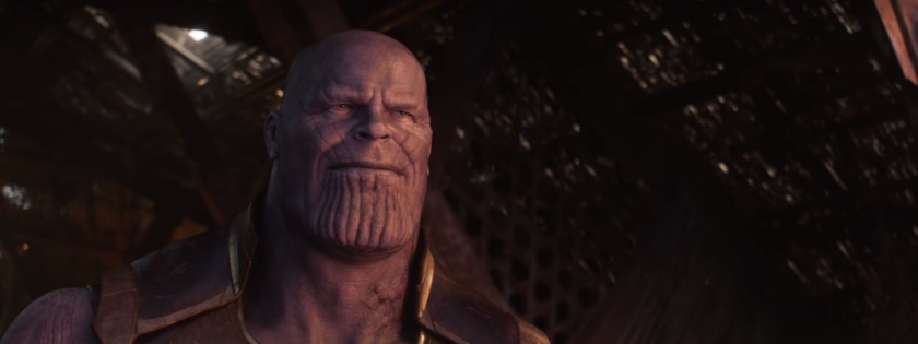 Avengers: Infinity War Thanos Smile