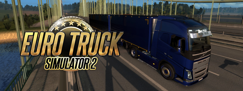 Love letter to Euro Truck Simulator 2 from confinement