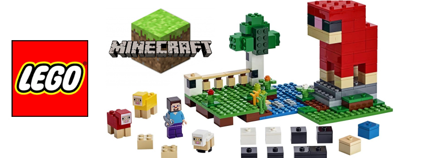 Review of the LEGO Minecraft   21153 The Wool Farm set